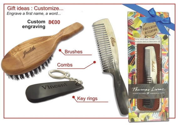 Customize combs and brushes