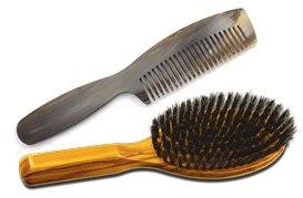 Peigne ou brosse