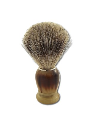 Pure badger shaving brush...